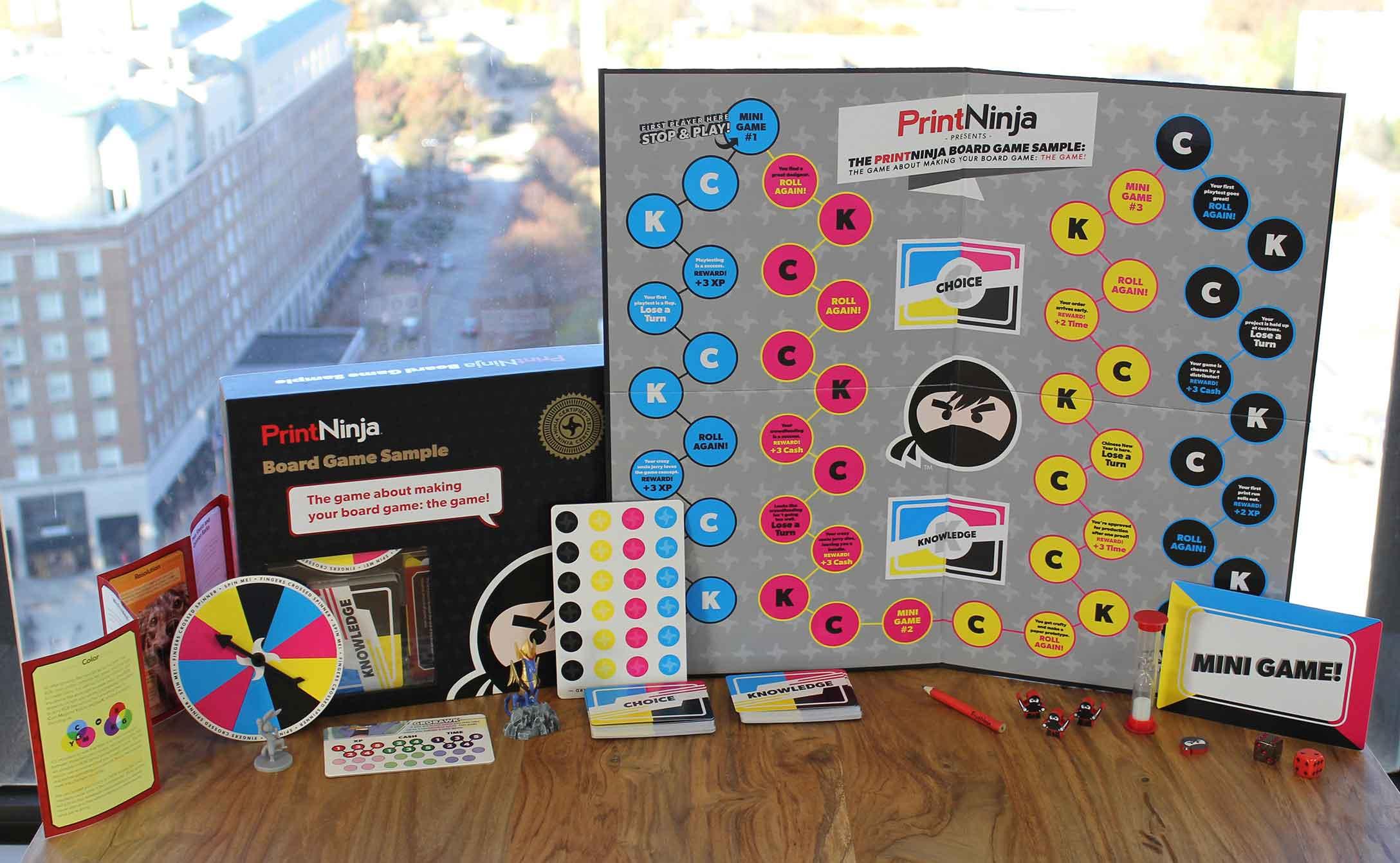 Board game sample pack