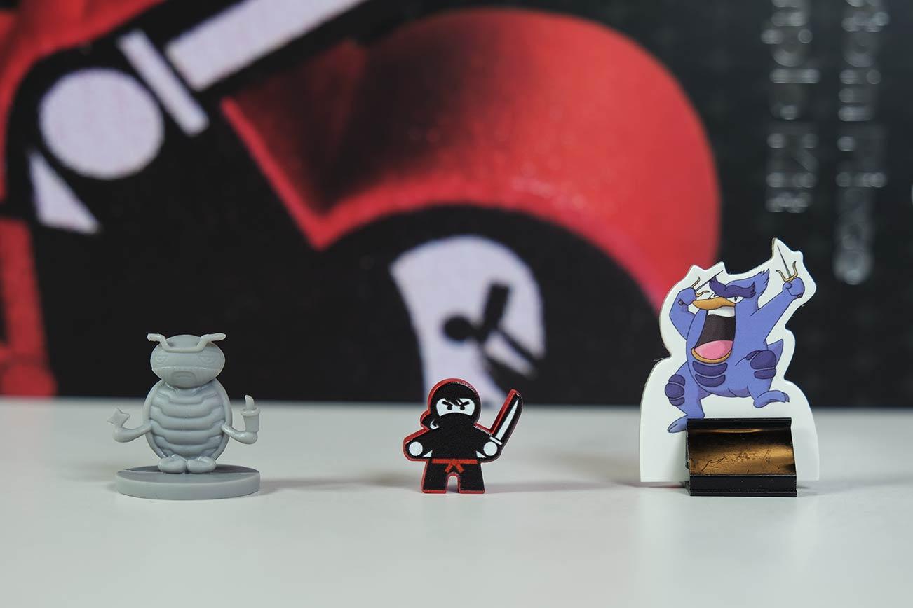 Custom miniature meeple and figures